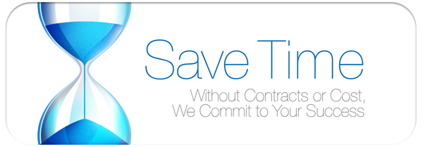 Without contracts or costs, we commit to your success, one meeting at a time.