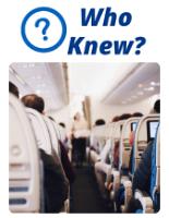 Who Knew - Aircrafts actually make us sick